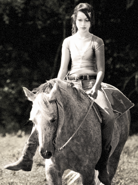 Riding 'Lucy' at Windgate Farms
