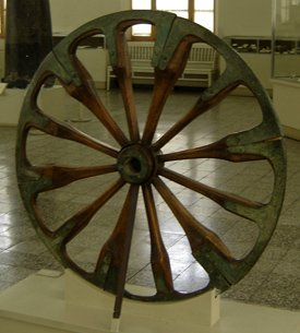 Wheel, Iran, from 2nd Millenium, BCE